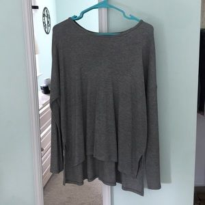 Ribbed Aerie Long Sleeve